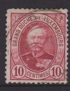 Luxembourg Sc#60 Used