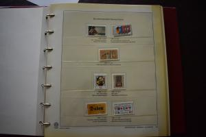 GERMANY COLLECTION 1980 YEAR SET  MNH