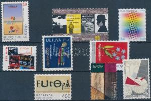 Thematic lot stamp Europe 1 set + 7 diff stamps 2003 MNH  WS180597
