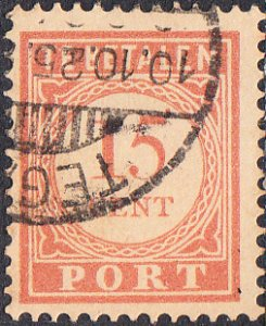 Netherlands Indies #J32a  Used