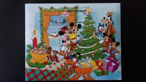 Disney - Turks & Caicos Islands 1983. - Christmas ** MNH Block