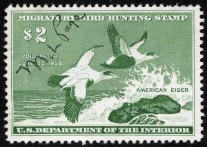 US Sc RW24 Federal Duck M/S Signature