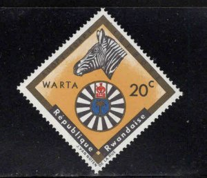 RWANDA Scott 219 Round Table stamp