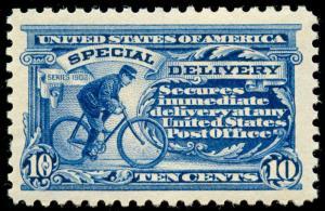 momen: US Stamps #E9 Mint OG NH XF