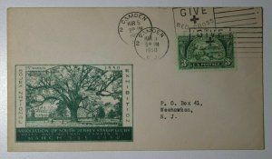 SOJEX Natl Exhibition Camden NJ 1958 Give Red Cross Philatelic Expo Cachet Cover