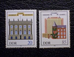German Democratic Republic Scott #2508-2509 mnh