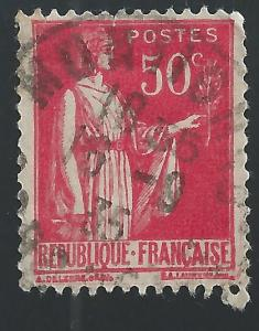 France #267 50c Peace with Olive Branch