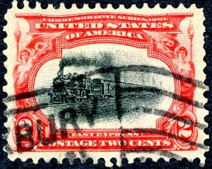 US 295 – 1901 2c Pan-American Exposition. Usedc VF.