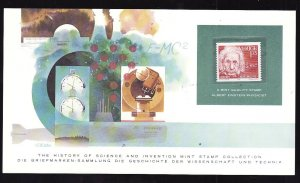History of Science & Invention Stamp Collection #1e-Sweden-Physics-Mint NH Alber