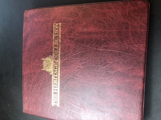 The Heritage Collection Of U.S. Presidents 1st President to 10th Full Book Nice