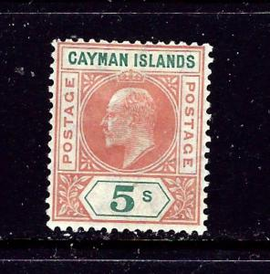 Cayman Is 16 MH 1907 issue / 2019