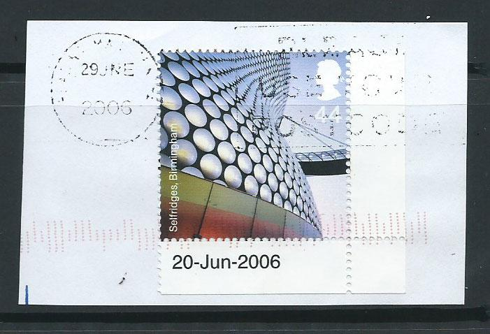 GB QE II   SG 2636 VFU  on piece