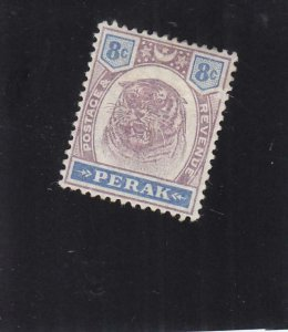 Malaya Federated States: Perak: Sc #52, MH (35509)