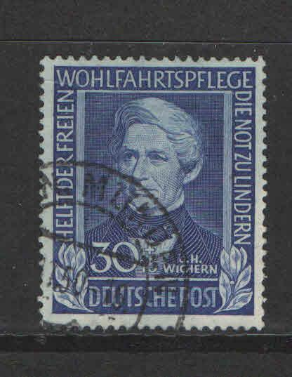 Germany 1949 Sc# B313 Used VF