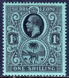 Sierra Leone - Scott #115 - MH - SCV $5.00