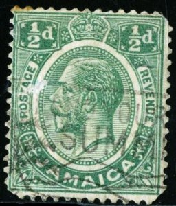 JAMAICA - SC #101 - USED FAULT - 1927- JAMA029NS3