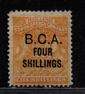 $British Cent. Africa Sc#19 M/H/F-VF, Cv. $100