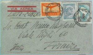 89555 - ARGENTINA - POSTAL HISTORY -  COVER to ITALY -  LATI  flight  1940