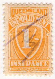 (I.B) Australia - Queensland Revenue : Unemployment Insurance 1/-