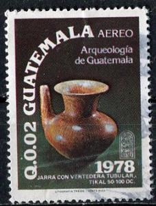 Guatemala; 1979; Sc. # C681; O/Used Single Stamp
