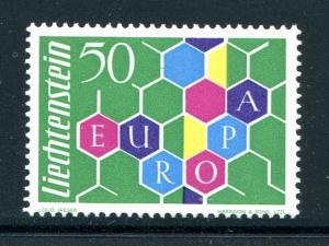 Liechtenstein  Europa #356  Mint XF NH