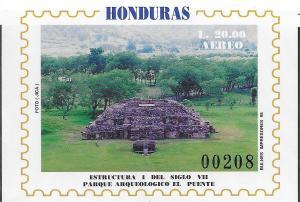 Honduras #C956 20l Puente Archeological Park  (MNH) CV $6.25