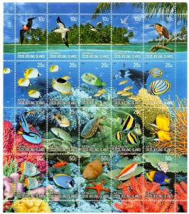COCOS ISLAND 344 MH S/S SCV $21.00 BIN $10.50 MARINE LIFE