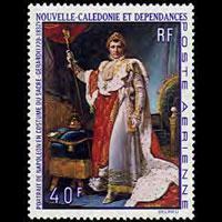 NEW CALEDONIA 1969 - Scott# C68 Napoleon Set of 1 NH