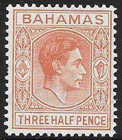 Bahamas 102 Unused/Hinged - George VI