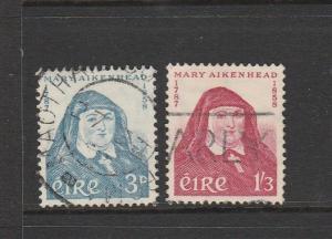 Ireland 1958 Aikenhead Used SG 174/5