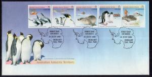 Australian Antarctic Territory L73 Animals U/A FDC