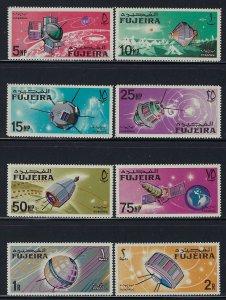 Fujeira MNH MI 70-7 Space Satellites 1966