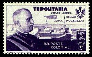 1934 Tripolitania #CB7 Air Post Semi-Postal - OGNH - VF/XF - CV$57.78 (E#4159)
