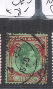 Malaya Straits SG 292 VFU (9dmd)