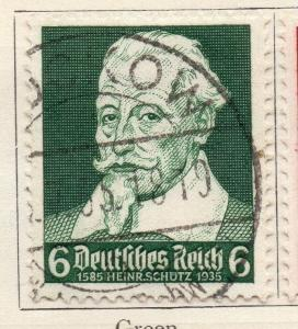 Germany 1935 Early Issue Fine Used 6pf. 106302