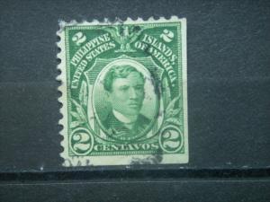 PHILIPPINES, US Admin, 1906, used 2c, Philippine Islands,  Scott 241