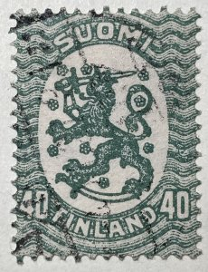 AlexStamps FINLAND #95 VF Used