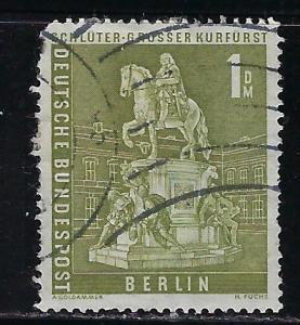 Germany Berlin Scott # 9N135, used