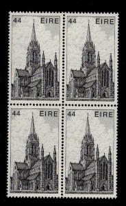 Ireland Sc 553 1982 44p Killarney Cathedral stamp block of 4 mint NH