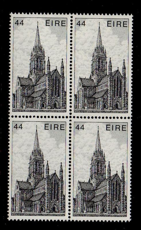 Ireland Sc 553 1982 44p Killarney Cathedral stamp block of 4 mint NH