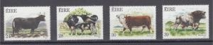 Ireland    #691-94     mnh      cat $4.55