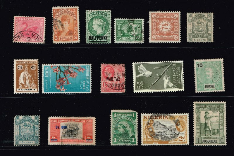 World Stamp Collection Lot #M2