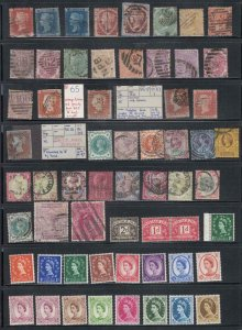 GB COLLECTION (Q/VIC,2 creased) KEV11,P/DUES,MNH WILDINGS GRAPHITES HIGH CAT VAL