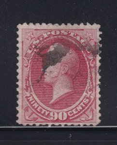 166 VF used neat cancel with nice color cv $ 300 ! see pic !