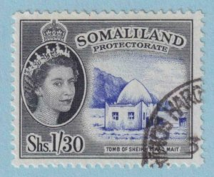 SOMALILAND PROTECTORATE 136  USED - NO FAULTS EXTRA FINE !