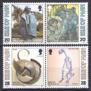 1993 Isle of Man 546-549Paar Europa Cept 4,50 €