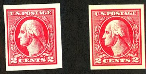 U.S. #533 MINT OG NH 1 with crease