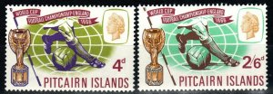 Pitcairn Islands #60-61  MNH  CV $5.50 (X9708)