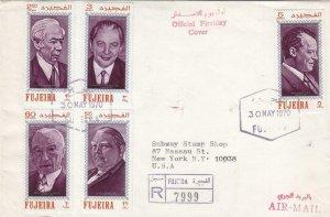 1970, Fujairah to New York, NY, Registered, #10 (38831)