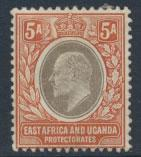 East Africa and Uganda Protectorate  SG 24  SC#23  Used see details